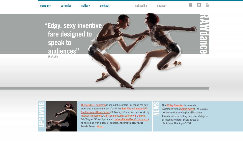 rawdance home page1
